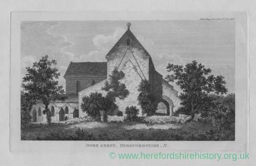 Dore Abbey, 1806