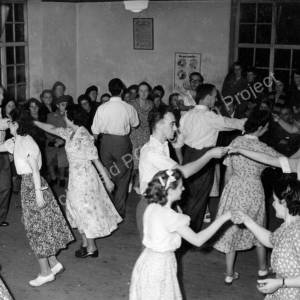 Grenoside Folk Dancing Class 1949-50