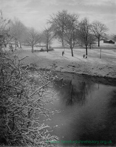 179 - Winter afternoon by the Wye