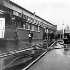 Dealing with the Fire at S. Newman Ltd., Commercial Road