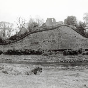 Clifford Castle,  view from river
