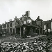 Carolina Street, bomb damage, Blitz