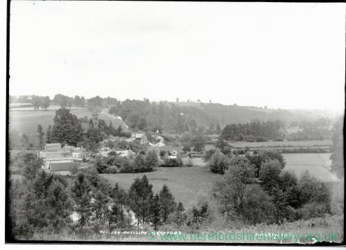 Hoarwithy Village, Herefordshire