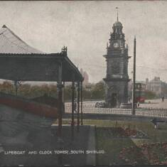 Lifeboat and Clock Tower