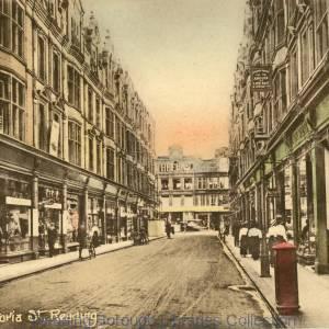 Queen Victoria Street, Reading, c1915.