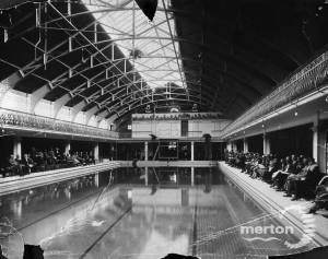 Wimbledon Public Baths: Opening of new pool