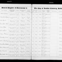 Burial Register 60 - February 1906 to May 1907