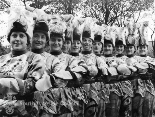 Unknown Troop of Women