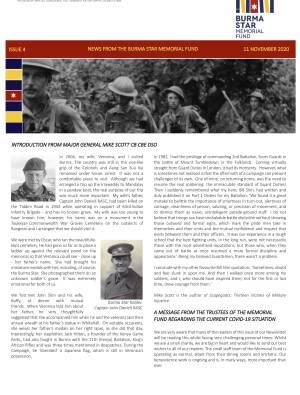 Burma Star Memorial Fund Newsletter Issue 4