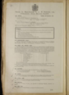 Routine Orders - June 1918 - April 1919 - Page 194