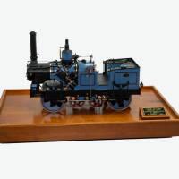 Model Gellerat steam road roller
