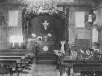 Interior of School Church (now Parish Hall) Killicks Road (now St. Marks Road)