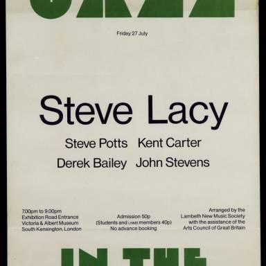 Steve Lacy 1973