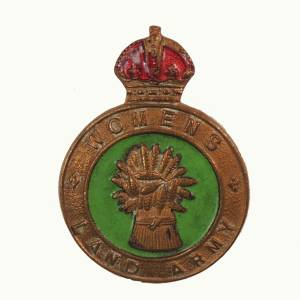 Woman's Land Army Badge
