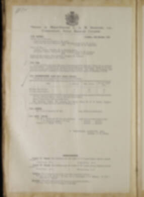 Routine Orders - June 1918 - April 1919 - Page 134