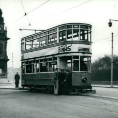 Tram 16 at Pier Head
