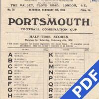 19500204 Charlton Away