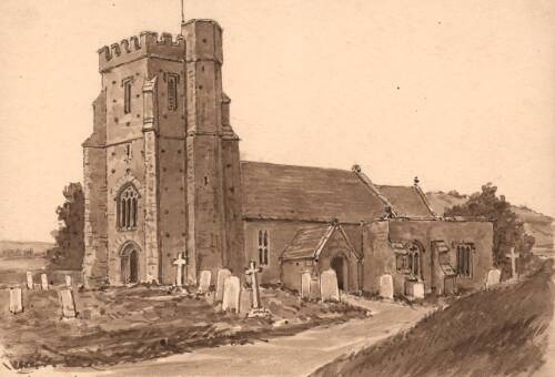 Seaton Church,  17 October 1901, Seaton