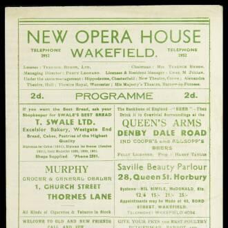 New Opera House, Wakefield, May 1943
