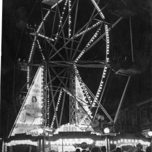 Percy Rogers' Big Wheel, Hereford May Fair, 1950s