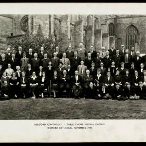 Three Choirs Festival Chorus 1949