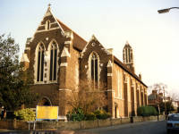 St Barnabas Church, Thirsk Road, Mitcham
