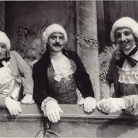 Photograph - three unknown performers