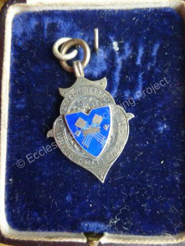 Ecclesfield Football Team - Wragg Challenge Cup Medal season 1907-1908