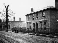 Brick house: Unknown location