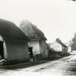 Fownhope ancient cottages now demolished