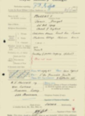 RMC Form 18A Personal Detail Sheets Feb & Sept 1933 Intake - page 94