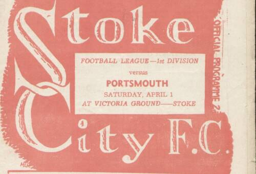 19500401 Stoke City