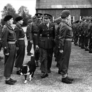 An inspection of Hereford Light Infantry.