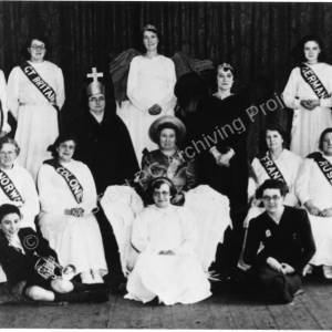 League of Nations Pageant, High Green c.1939.