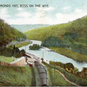POP019 Symonds Yat, Ross on the Wye, published by H G Bussel Ross on Wye series.jpg