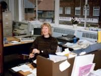 Library staff, Wimbledon Library