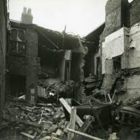 Clare Road, bomb damage, Blitz