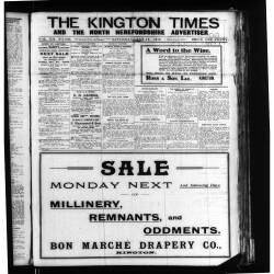 The Kington Times 1919