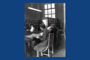 Wimbledon Library Interior