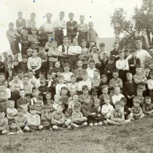 Over-ross 1931: Liverpool boys camping at Over-ross Farm, July 16 1931