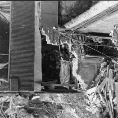 Bomb damage to Tyne Dock Engineering Premises