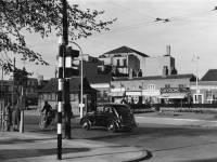 Fair Green, Mitcham: looking towards Majestic cinema