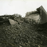 Benbow Street Warehouse, bomb damage, Blitz