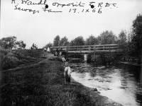 River Wandle opposite Croydon rural district council sewage farm