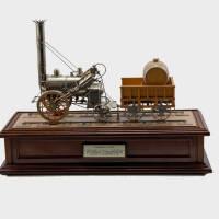 "Model of the ""Rocket"" locomotive"