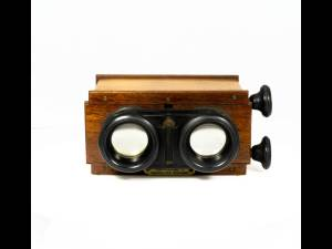 Stereoscopic Glass Plate Viewer
