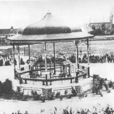 Bandstand in Charlie's Park, Jarrow