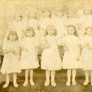 Grenoside Infant School Girls 1911-12
