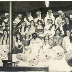 Burncross Chapel Concert During WW1