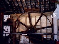 Liberty Print Works: Former waterwheel mechanism